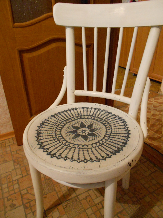 Реставрация старых венских стульев