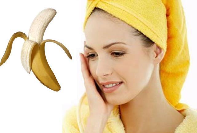 маска из банана от морщин