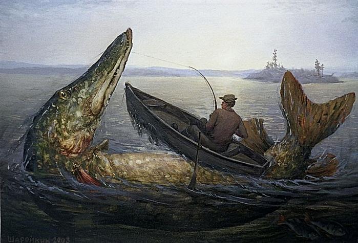 Гигантские рыбы