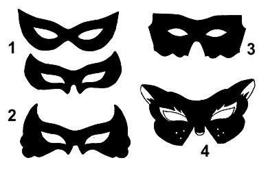 Как сделать маску из бумаги своими руками
