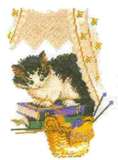 ...ВЫШИВКА крестом/животные. кошки. вышивка крестом. вышивка. в цитатник.