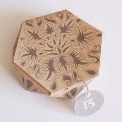 Коробочки для подарков своими руками. Шаблоны (4)