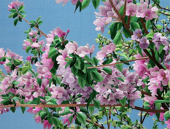 яблоня в цвету (700x531, 414Kb)