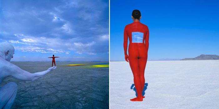 Проект bodyscapes фотографа и художника