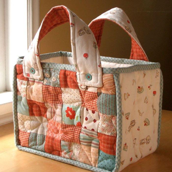 Лоскутное шитье сумок