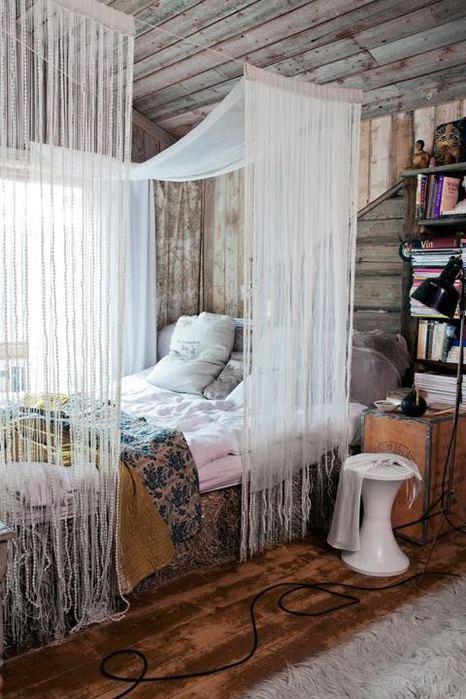 эко стиль,интерьер загородного дома,красивый интерьер,дома из сруба (466x700, 69Kb)