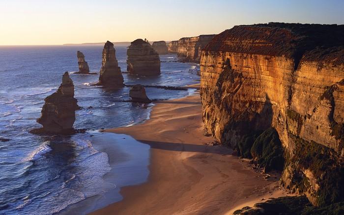 Лучшие достопримечательности Австралии - Великая океанская дорога и 12 апостолов Виктории 3 (700x438, 102Kb)
