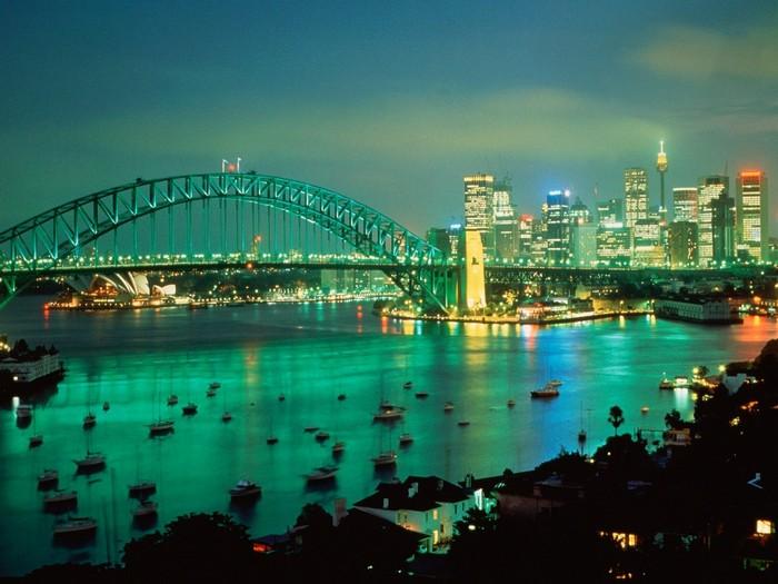 Лучшие достопримечательности Австралии - Сиднейская Гавань 2 (700x525, 90Kb)
