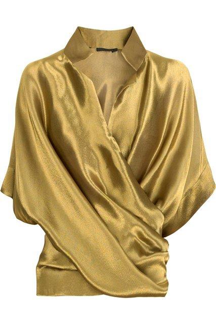 Шитье Блузка С Запахом