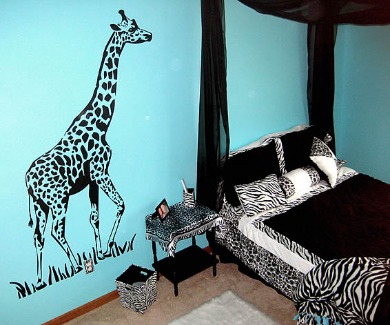 Zebra wall art  Etsy