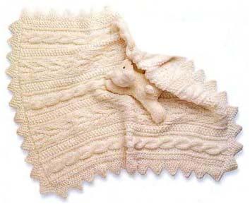 Детское одеяло связать спицами схемы