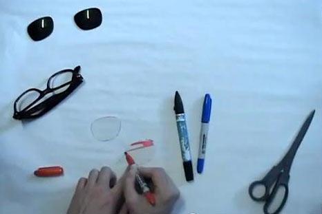 Сделать 3д очки в домашних условиях