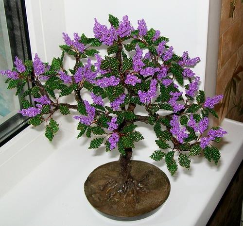 b Дерево из бисера /b.