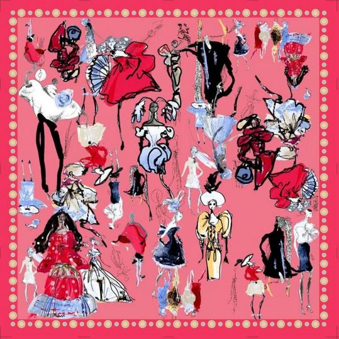 Шейный платок, как модный аксессуар 23 (700x700, 171Kb)