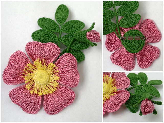 Вязание крючком схема цветы. в сообществе обновилась фотография.