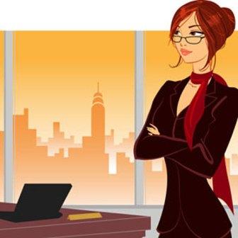 женщина и карьера (336x336, 18Kb)