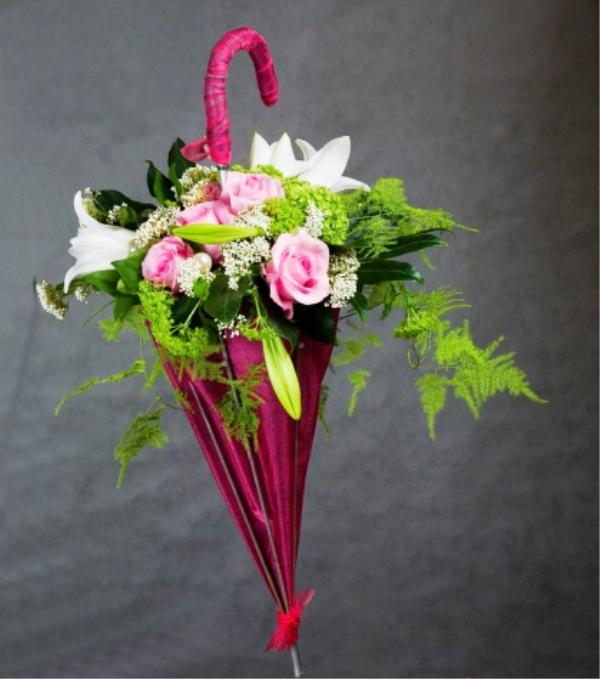 Букеты из цветов своими руками на день