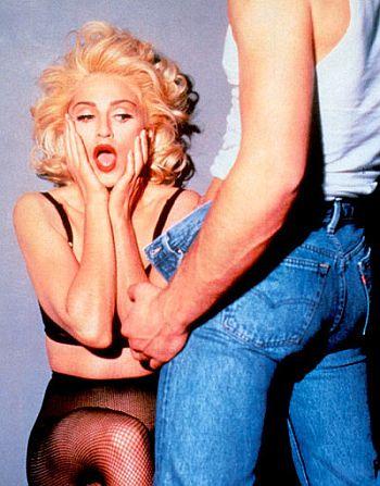 Мадонна испугалась х@я