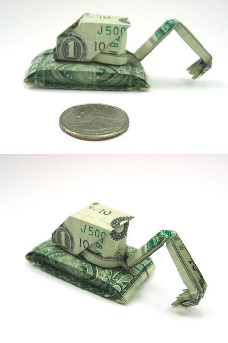 Креативные оригами из денег 8 (465x700, 171Kb)