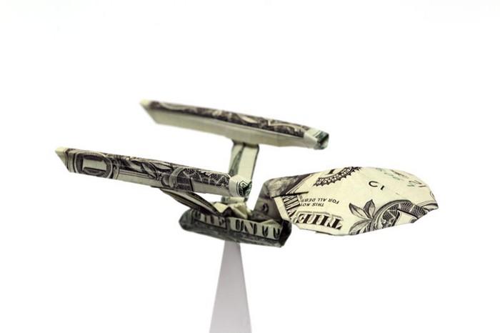 Креативные оригами из денег 9 (700x466, 27Kb)