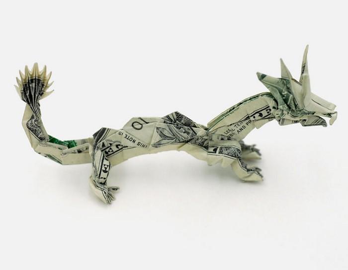 Креативные оригами из денег 16 (700x544, 38Kb)
