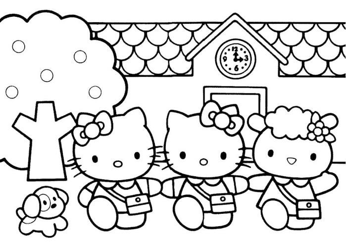 Детские раскраски для девочек 7 лет