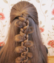 фото плести косы