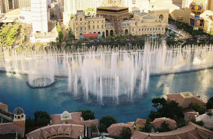 Fonte da Bellagio Las Vegas (700x456, 122KB)