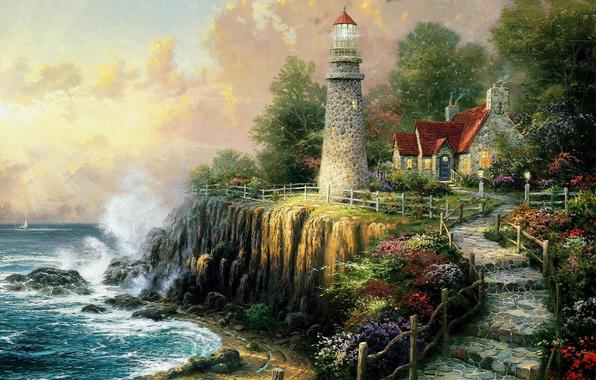 273232-The light of Peace, Thomas Kinkade-1920x1536 (596x380, 53Kb)