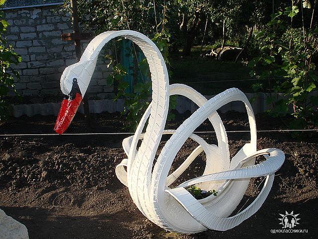 Лебедь из металла своими руками 66