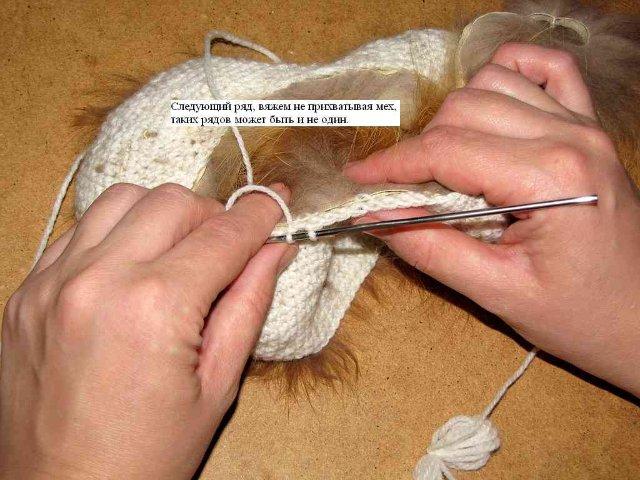 Связать из меха своими руками