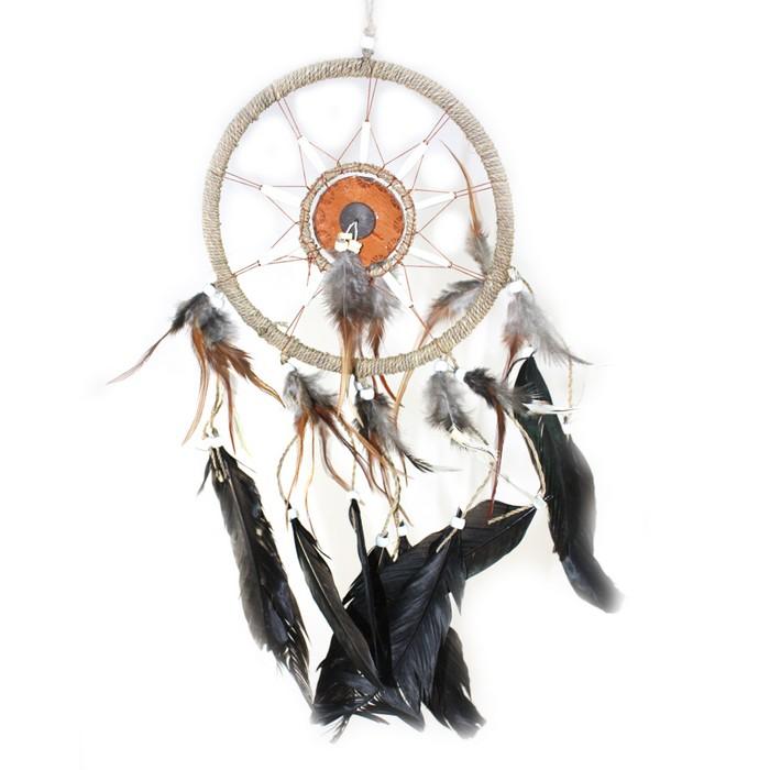 Ловец снов - красивый индейский амулет 13 (700x700, 66Kb)