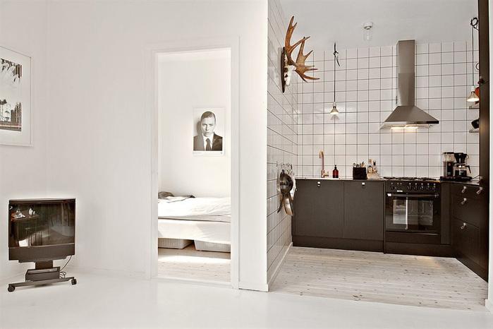 дизайн маленькой квартиры фото 5 (700x466, 90Kb)