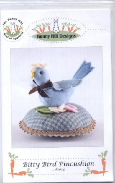 Bunny Hill Desingns 104 - Bitty Bird Pincushion (2) (390x619, 51Kb)