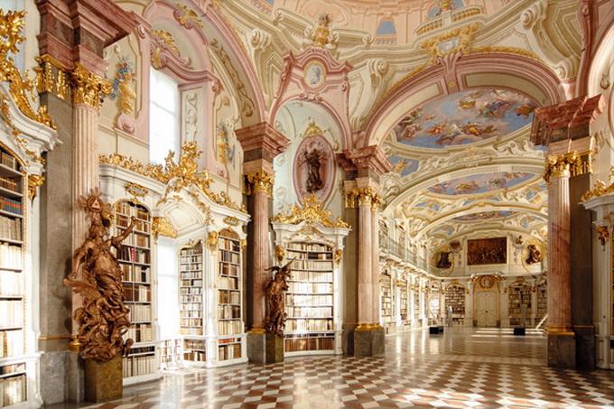 красивейшие библиотеки европы фото 1 (680x453, 202Kb)