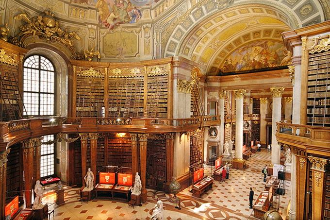 красивейшие библиотеки европы фото 3 (680x453, 226Kb)
