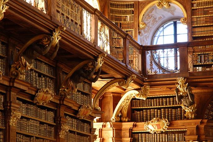 красивейшие библиотеки европы фото 5 (680x453, 211Kb)