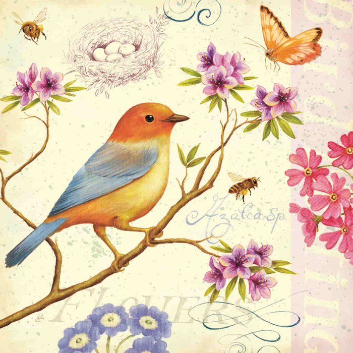 Птички картинки декупаж