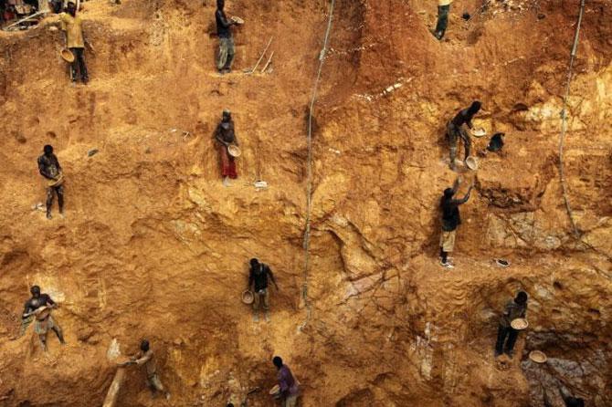 добыча золота в африке фото 3 (670x446, 101Kb)