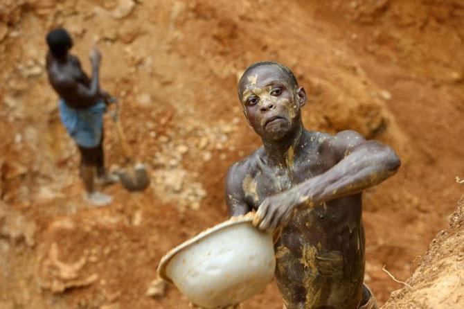 добыча золота в африке фото 5 (670x446, 55Kb)