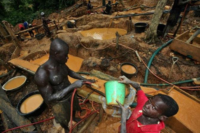 добыча золота в африке фото 7 (670x444, 90Kb)