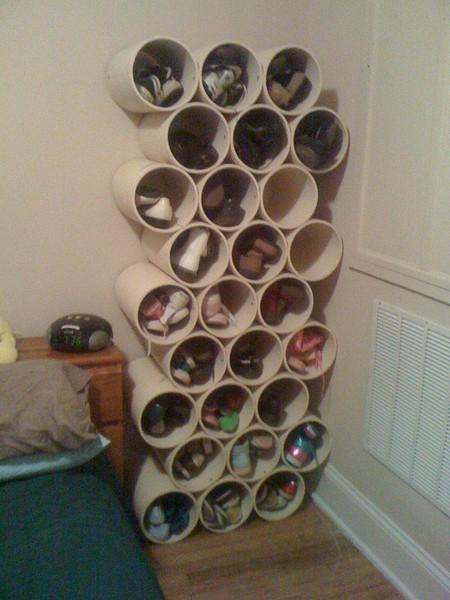 Как хранить обувь: 5 идей и примеры - Roomble com