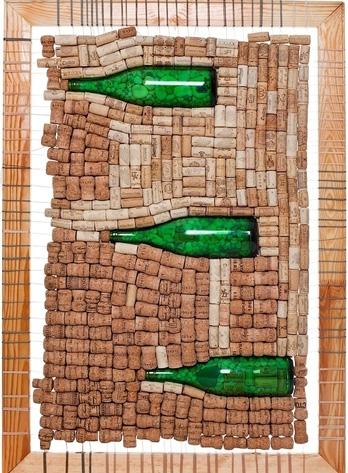 Изделия из винных пробок в интерьере