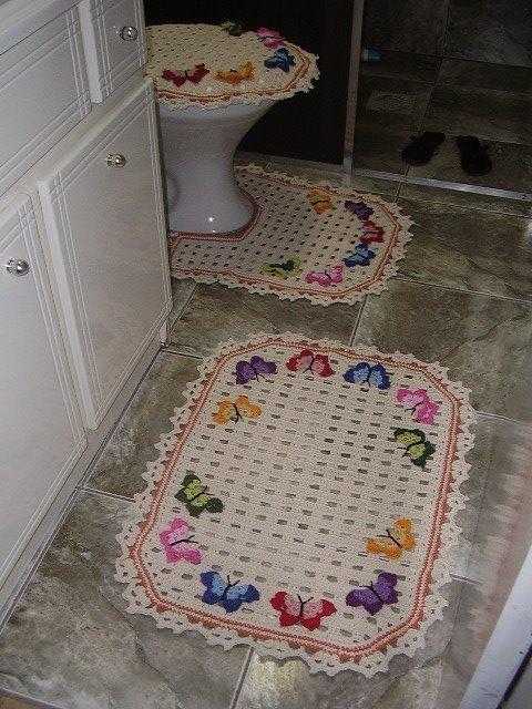 Как сделать коврик для ванны своими руками