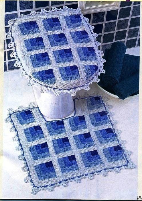Коврик для ванны из пакетов своими руками