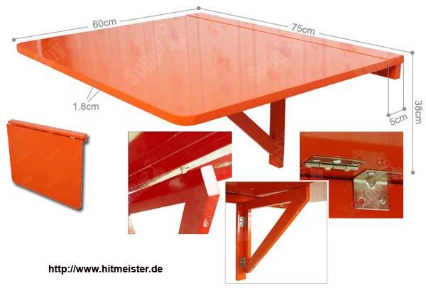 Компактная складывающаяся мебель для балкона.