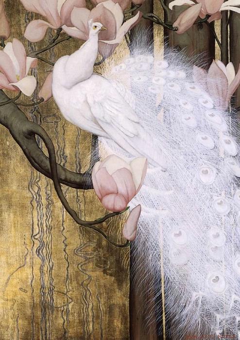 павлин картины художников 4 (494x700, 294Kb)
