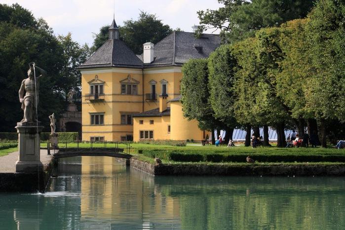 Дворец Хельбрунн - часть 1 22943