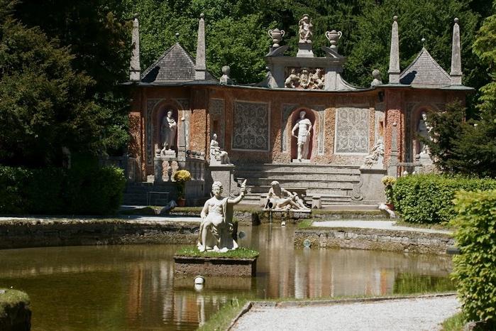 Дворец Хельбрунн - часть 1 74255