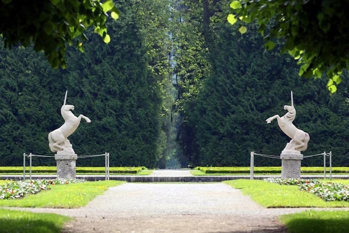 Дворец Хельбрунн - часть 1 48304
